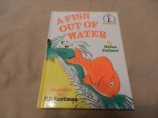 A Fish Out Of Water by Helen Palmer Dr. Seuss Beginner Books 1989 BN