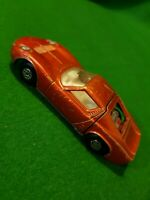 MATCHBOX SPEED KINGS LAMBORGHINI MIURA CAR No K-24 DIECAST VINTAGE 1970 LESNEY