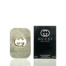 Gucci Guilty Platinum Edition Eau de Toilette 75 ml EDT NEU OVP