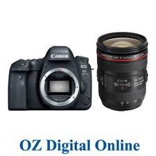 New Canon EOS 6D Mark 2 +24-70 F4 kit 26.2MP Mk II Full Frame DSLR Camera 1YrWty