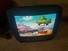 "Panasonic Pv-Dm2793 27"" Dvd/Vcr Combo Retro Gaming Color Crt Tv"