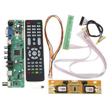 V56 Universal TV LCD Driver Board PC / VGA / HDMI / USB Interface + 4 Lamp Inver