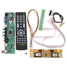 V56 Universal TV LCD Driver Board PC / VGA / HDMI / USB Interface + 4 Lamp Inver