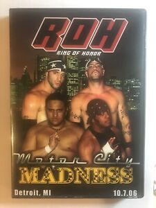 ROH Motor City Madness DVD Ring of Honor (10.7.06)