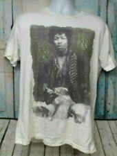 Rock & Republic Men's Large Jimmi Hendrix White Tshirt