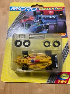 MICRO SCALEXTRIC G2004 F1 JORDAN NO.11 - BRAND NEW - RARE BLISTER PACK