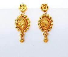 Gold Plated Earrings New Women Jewelry Indian Wedding Ethnic Designer Jhumki 18k