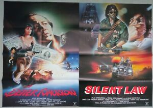 LOT of 14 German Action Movie Posters A BETTER TOMORROW / American Hunter / L. A