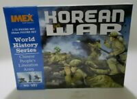 Model Figures - Korean War Chinese Troops- 1:72 -Imex 761963005319 with extras