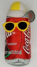 "Coca Cola 6"" Bean Bag Plush: 1997"