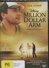 MILLION DOLLAR ARM -   Jon Hamm, Aasif Mandvi, Alan Arkin  - DVD