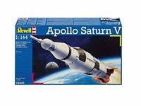 Apollo Saturn 5 Rocket Model Kit Moon Landing Space Craft 1:144 Scale Plastic