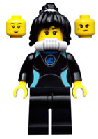 LEGO Mini Figure Avatar Nya with Weapons from set 71708 Ninjago Gamer's Market