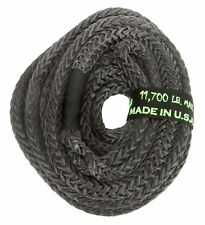 1/2 x 20 Voodoo Offroad BLACK RECOVERY ROPE 11,700 lb 28% stretch KINETIC ENERGY
