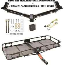 TRAILER HITCH + CARGO BASKET CARRIER + SILENT PIN LOCK FITS 09-17 DODGE JOURNEY