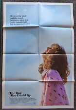 THE BOY WHO COULD FLY 1986 ORIGINAL 1 SHEET MOVIE POSTER LUCY DEAKINS