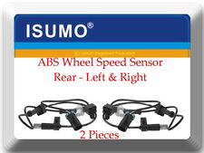 2 X ABS Wheel Speed Sensor ALS1956 Rear L & R Fits:  Silverado Sierra 2500 09-10