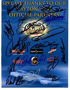 NASCAR 16 Daytona 500 champions authentic autographed photo