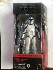 Walgreens Exclusive Star Wars The Black Series Clone Trooper Lieutenant