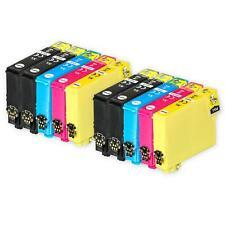 10 Ink Cartridges for Epson Workforce WF-2010W WF-2530WF WF-2650DWF WF-2750