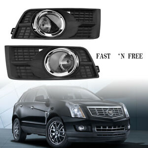 Fog Lamps Driving Lights Fog Lights & Covers For Cadillac SRX 2010-2016 LH& RH A