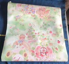 12 Ft 1980s Orig Vintage Strawberry Shortcake SSC Doll Wall Paper Wallpaper Roll