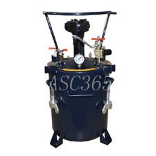 5gal 20l Pressure Feed Paint Pot Tank Spray Gun Pressure Mixer Double Output