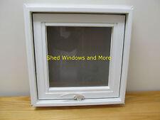"Awing Window 16"" x 16"" Vinyl PVC Home Tiny House Playhouse Shed  Hopper Window"