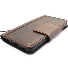 Genuine leather case for LG G7 book holder cards wallet magnetic cover handmade