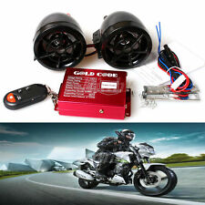 Moto sd usb MP3 radio fm haut parleur alarme audio remote sound system noir