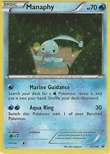 POKEMON PROMO CARD: MANAPHY - XY190 - BLACK STAR PROMO HOLO