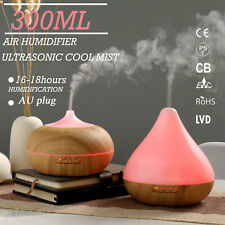 GX.Diffuser LED Essential Oil Aroma Diffuser Ultrasonic Humidifier Aromatherapy