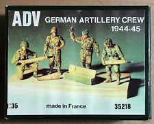 ADV AZIMUT PRODUCTION 35218 - GERMAN ARTILLERY CREW 1944-45 - 1/35 RESIN KIT