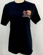 Once And Always A Firefighter Graphic T-Shirt Medium Short Sleeve