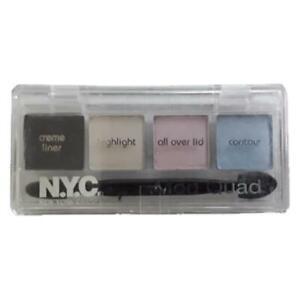 NYC Mod Quad Creme Liner & Eye Shadow - 859B Peaceful Pastels