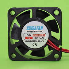 Xindafan Lüfter Miniatur 40x40x10mm 5 V/DC 6,51m³/Min 30,5 dBA Gleitlager (315