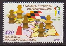 NAGORNO MOUNTAINOUS KARABAKH ARMENIA 2009 CHESS OLYMPIAD GERMANY MNH R1268b