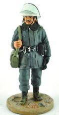 "Firefighter Figurine Fireman Cracovia Poland 1999 Lead Del Prado 1/32 2.75"".B109"