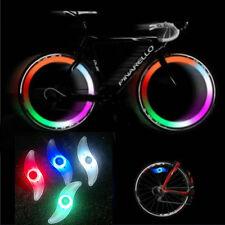 3 MODOS Bicicleta Bici Ciclismo Spoke Alambre Neumático Rueda LED Luz brillante