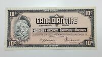 1974 Canadian Tire 10 Ten Cents CTC-S4-C-CM Circulated Money Banknote E149