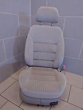 VW GOLF IV 4 3 türer SITZ Beifahrersitz vorne rechts STOFF grau (B3461)