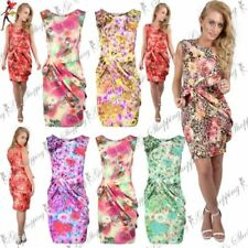 Floral Dresses for Women with Pleated