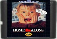 Home Alone (1992) 16 Bit Game Card For Sega Genesis / Mega Drive System