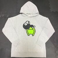 A BATHING APE BAPE Baby Milo Pullover Hoodie Size M Gray Vintage 2004 Rare