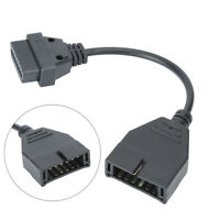 12Pin ALDL OBD1 to 16 Pin OBD2 Connector Adapter Cable for GM Automobile Vehicle