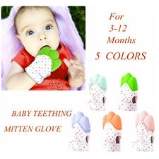 Baby Safe Silicone Teether Mitten Teething Glove BPA Free for 3-12 months Baby