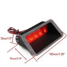 Auto Car Red Warning 5-LED Rear Tail 3rd Brake Stop Light Fog Lamp Universal New