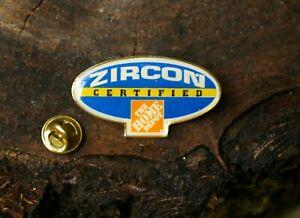 The Home Depot Zircon Certified Tool Stud Finders Metal Enamel Lapel Pin Pinback