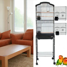 "64"" New Large Canary Parakeet Cockatiel LoveBird Finch Budgie Bird Cage Stand290"