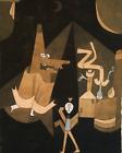 5x7 Print - Witch Scene- Paul Klee (1921)